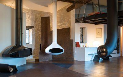 Nowy salon wystawowy kominków gazowych w siedzibie głównej Focus